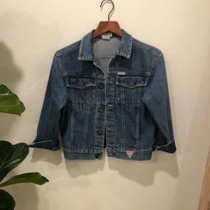 Vintage jean jacket by Guess